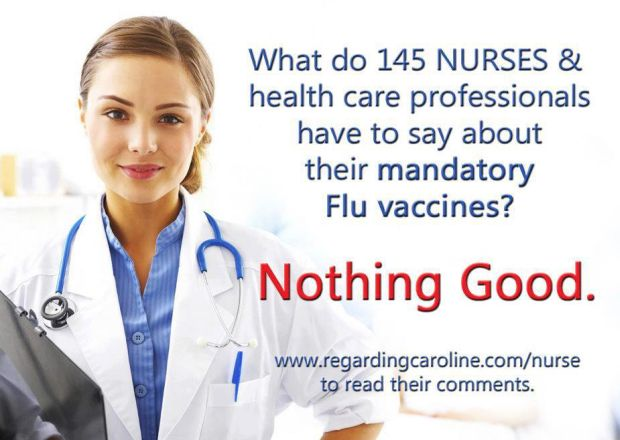 man dating flu vaccine for healthcare workers
