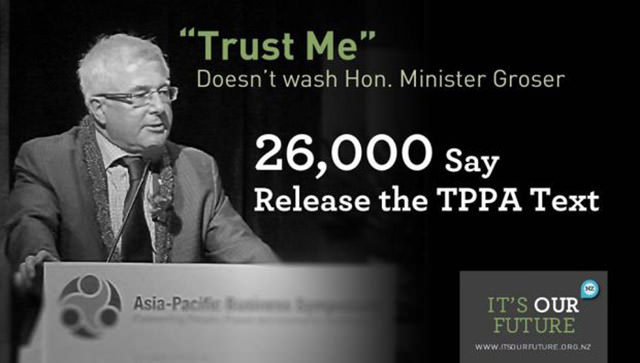 Stop the TPPA Become Informed and Sign Petitions! 1