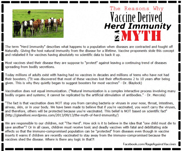 The Myth Of Vaccine-Induced Herd Immunity 1