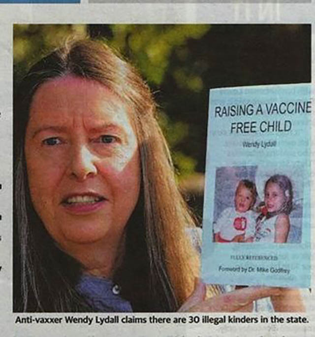 'Raising A Vaccine Free Child' Author Wendy Lydall 2