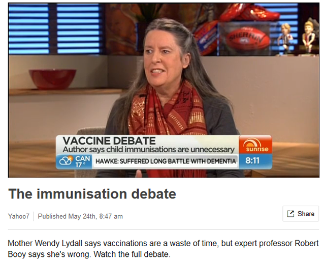 'Raising A Vaccine Free Child' Author Wendy Lydall 3